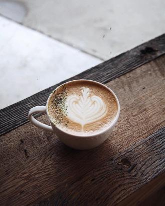Seasonal latte