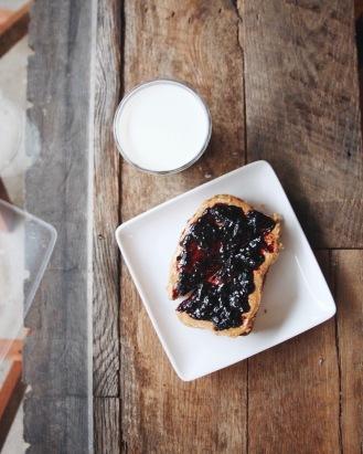 PB+J Toast