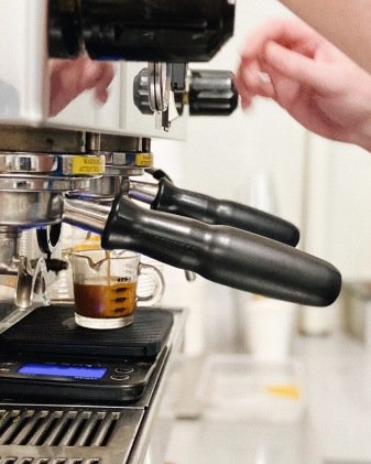 dialing in our espresso