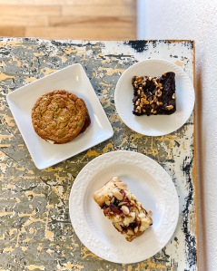 assorted baked goods from Lazy Lady Baking Company